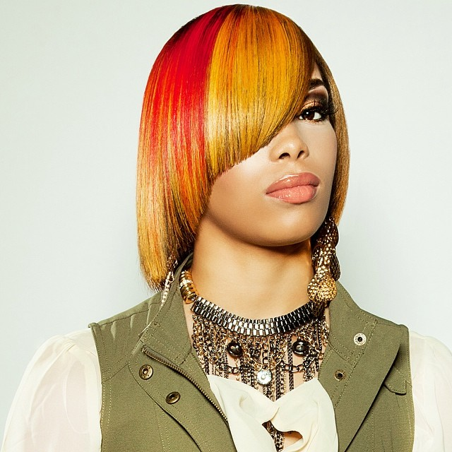 Yolanda Luxe_Golden and Red bob