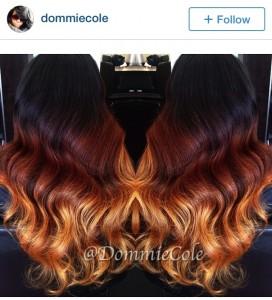 @DommieCole ombre color