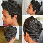 Pixie Cut and Curl