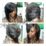 Install with Razor Bob Black Hair