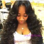 StylesByPorchea Invisible Part SewIn Middle Part