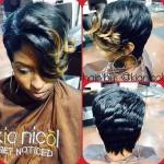 Pixie Hair Cut Done by Kia Nicole