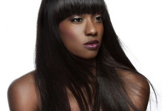 Full Sew In Hair Extensions with Bangs