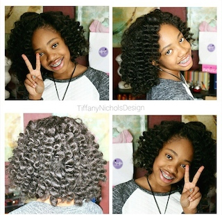 Crochet Braids Little Girl : Crochet Braids For Little Girls Natural hair trends: crochet braids ...