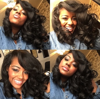 permed hair styles big hair is in get the look with perm rods voice of hair 4115
