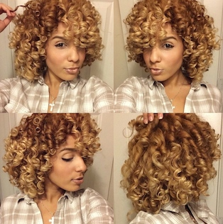 Enjoyable Flexi Rod Curls Voice Of Hair Natural Hairstyles Runnerswayorg