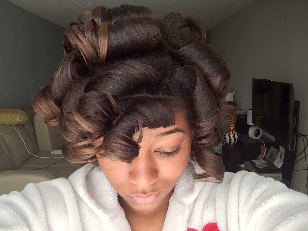 Silk Wrap Method Roller Take Down Voice Of Hair