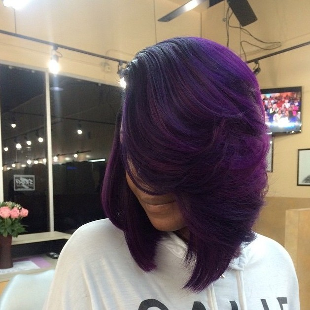 10 Ways To Wear Purple Hair Flawlessly Voice Of Hair