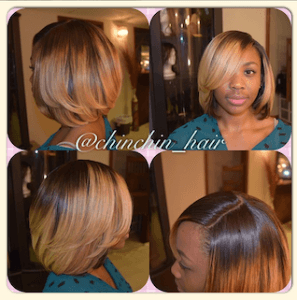 Sew In Install by @ChinChin_Hair
