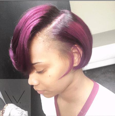 @Coldina_ Hair Color Bob cut