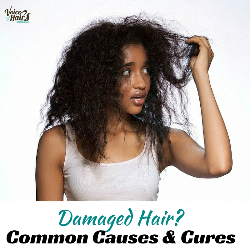 Damaged Hair- Common Causes & Cures (2)
