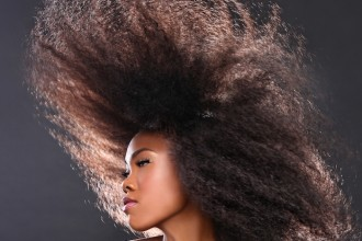 Heatless Blowout on Natural Hair
