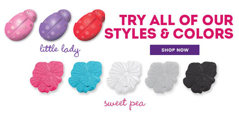 Gabby Bows come in a variety of colors and styles