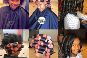 How to Grow Your Natural Hair with Roller Sets