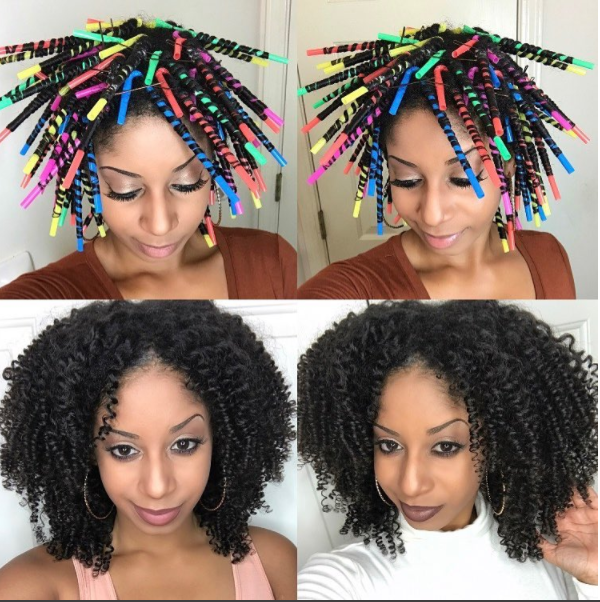 Straws To Curl Hair-Step By Step And Video