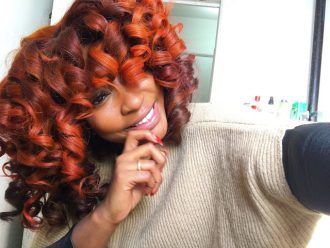 How to Achieve Copper Colored Curls