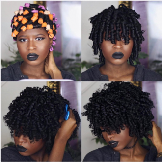 How to Acheive a Bomb Perm Rod Set on Type 4 Hair