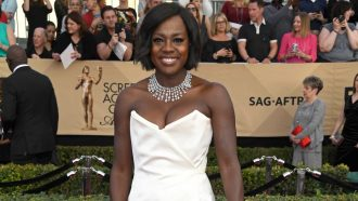 Viola Davis makes history at SAG awards
