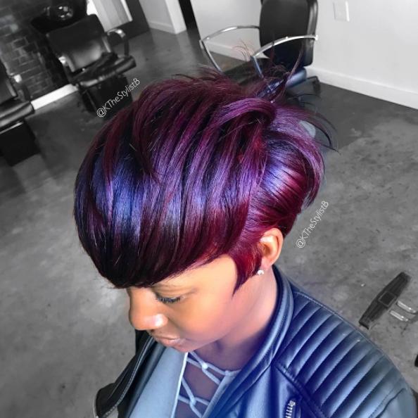How to Wear Purple Hair Flawlessly
