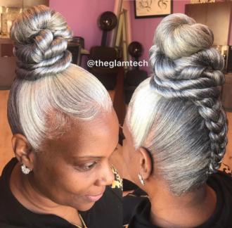 Grey Hair Styles We love