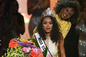 Miss USA 2017 Natural Hair