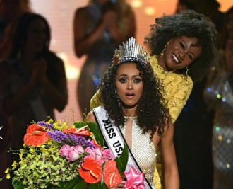 Miss USA 2017 Natural Hair