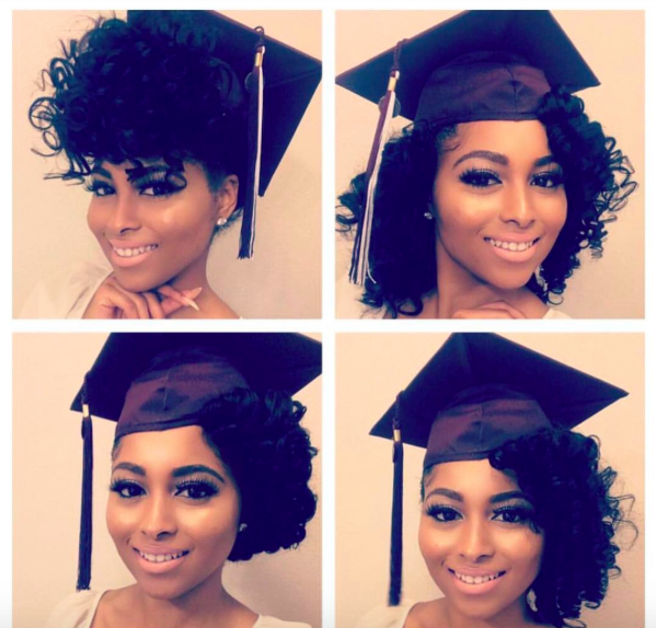 Graduation Hairstyles Girls: 5 Ways To Slay Your Cap & Gown