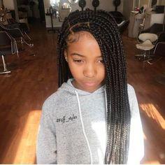 Kids Box Braids Hairstyles