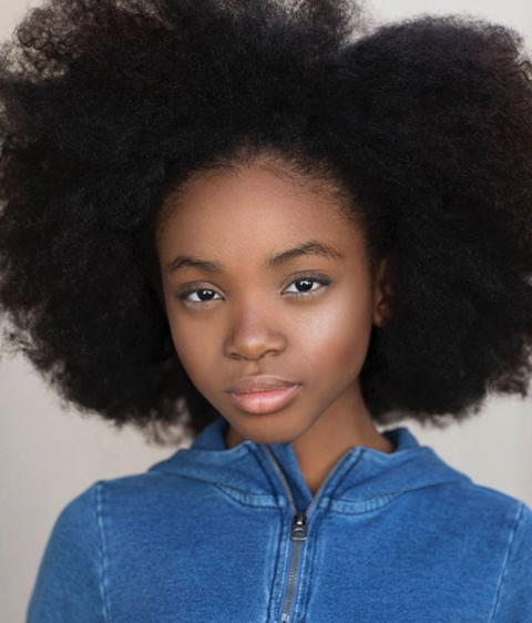 This Young Queen is Taking Over the Runway with Her Natural Hair