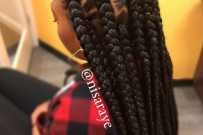 Protective Styling: How to Do Puzzle Parts Box Braids
