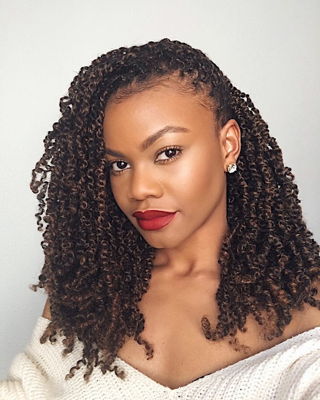 Spilling The Tea On The Popular Spring Twists Protective Style Voice Of Hair