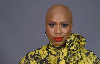 Ayanna Pressley bald head picture.